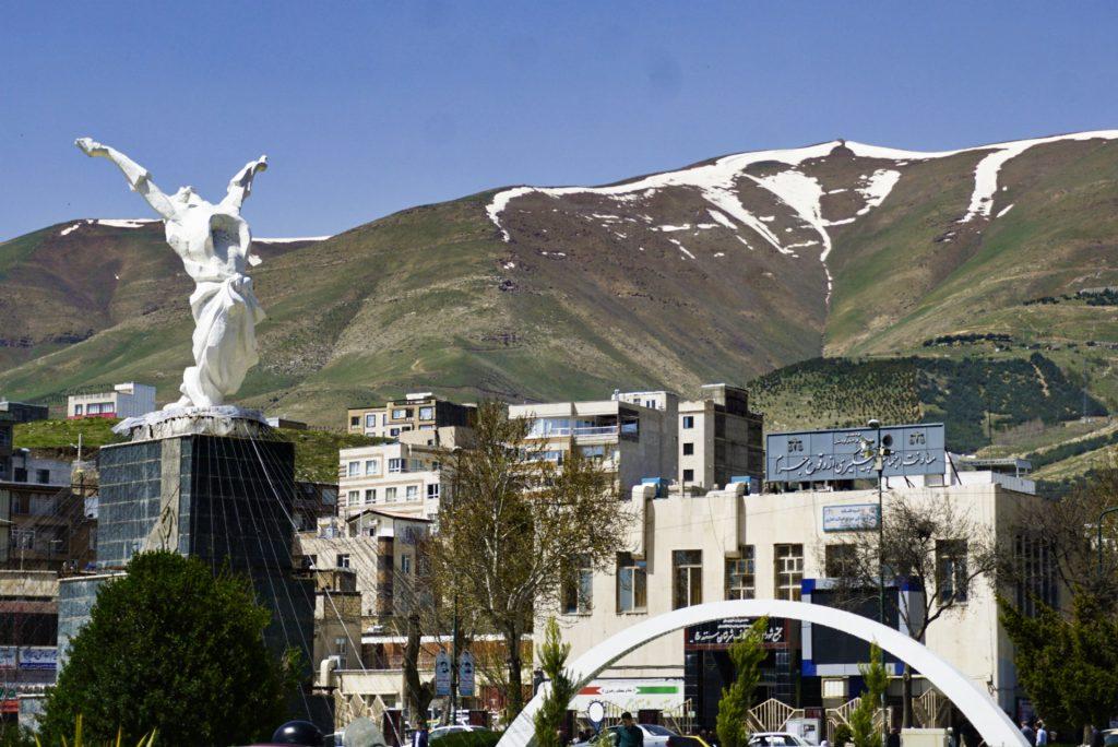 Azadi square, Sanandaj, Kurdistan, Iran