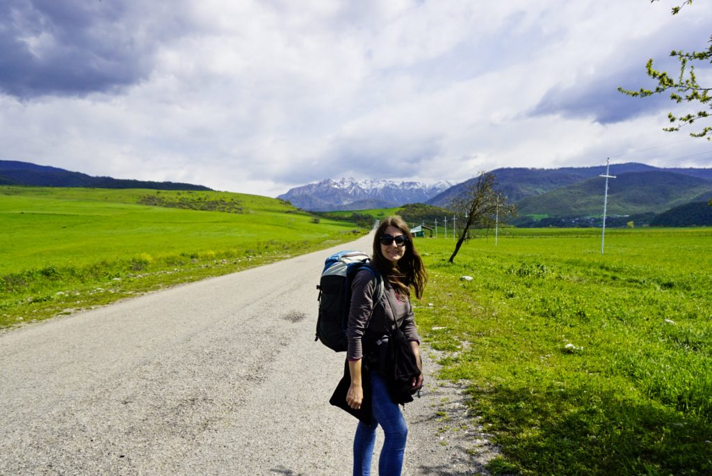 Backpacking, Lahic, Qabala, Azarbaijan