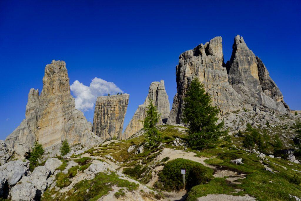 Cinque Torri, Dolomites, Italy