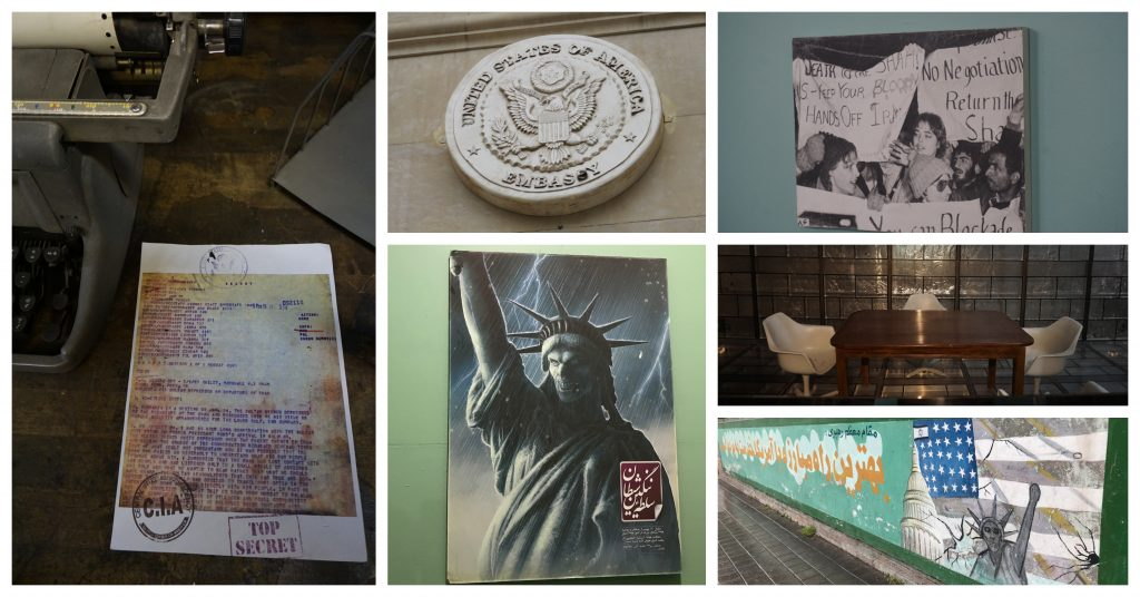 """The """"Dem of Espionage"""" museum, in the former US Embassy"""