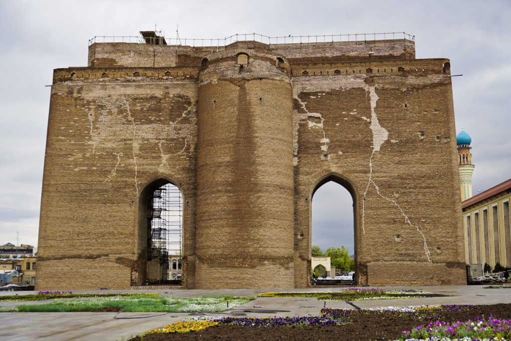 Gate of the old city, Tabriz, East Azerbaijan, Iran