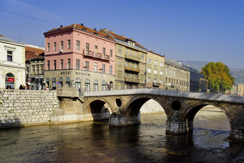 Latin Bridge, Sarajevo, Bosnia and Herzegovina