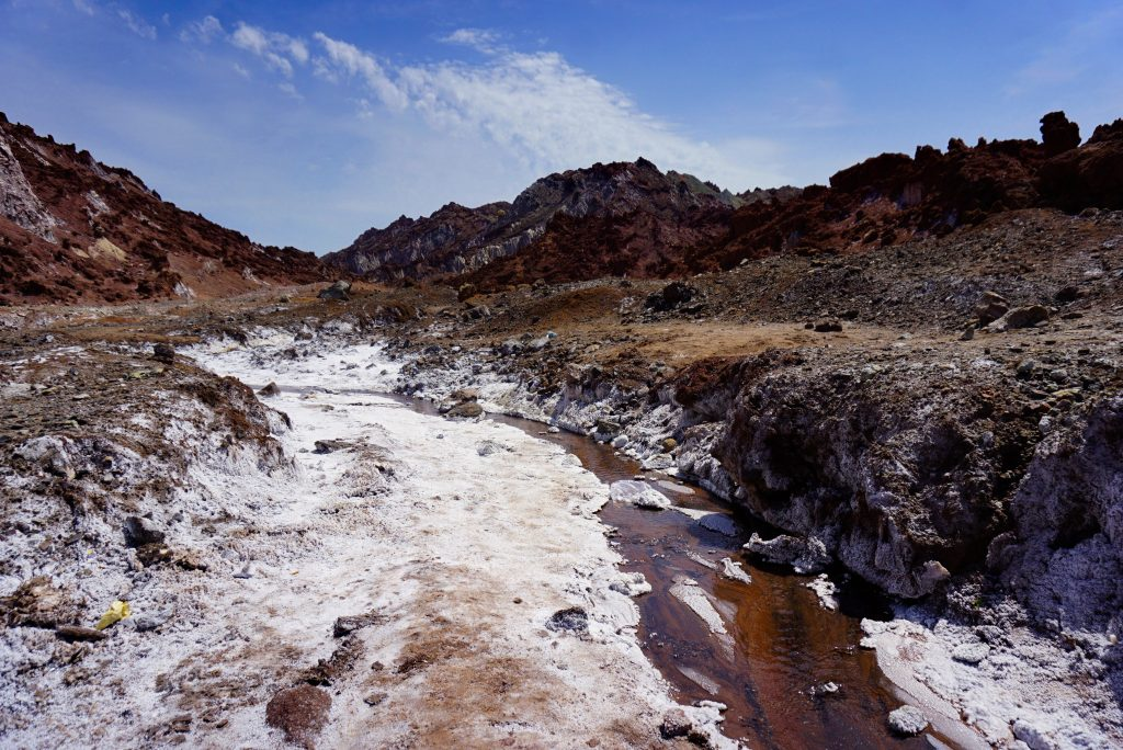 Mars valley, Hormuz, Iran