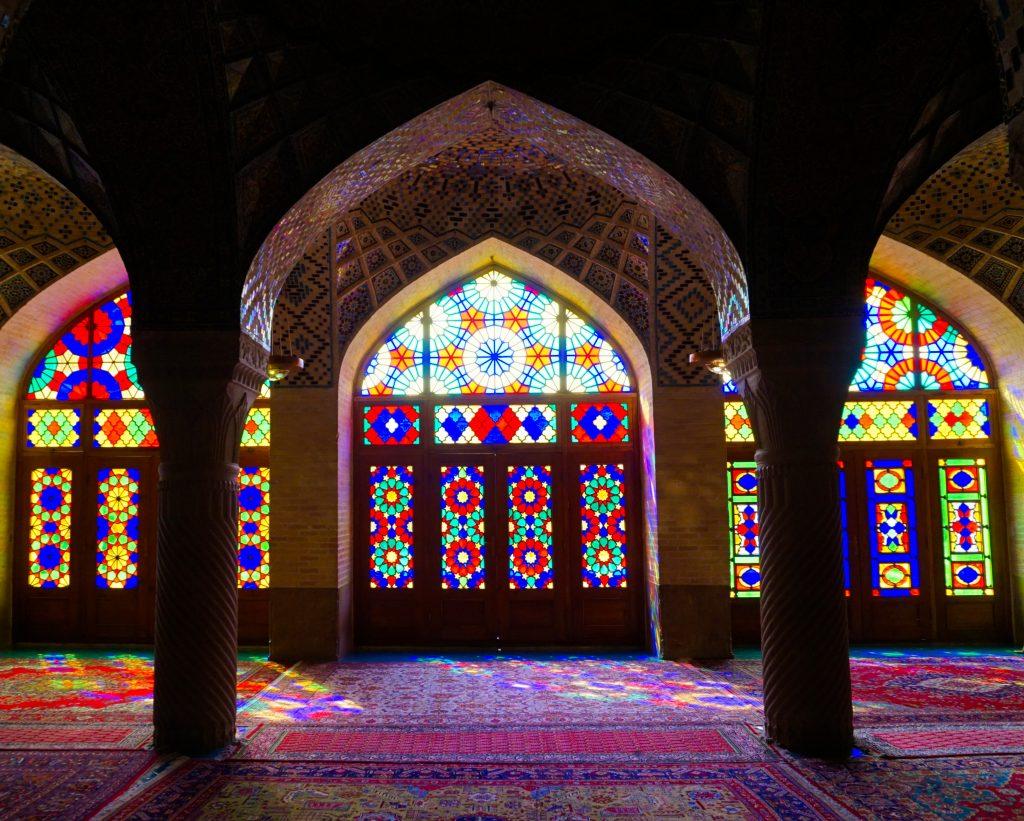 Nasir ol-molk - the Pink mosque, Shiraz, Iran