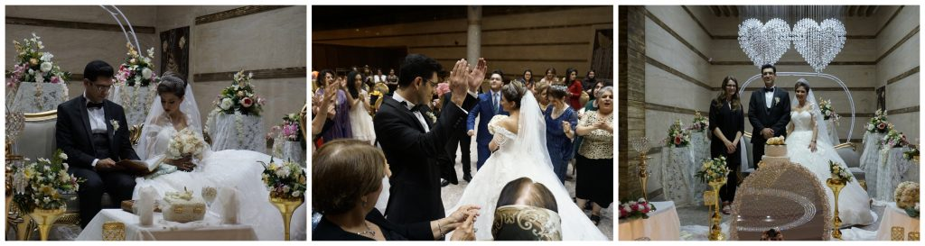 Nilou and Ali's wedding, Kerman, Iran