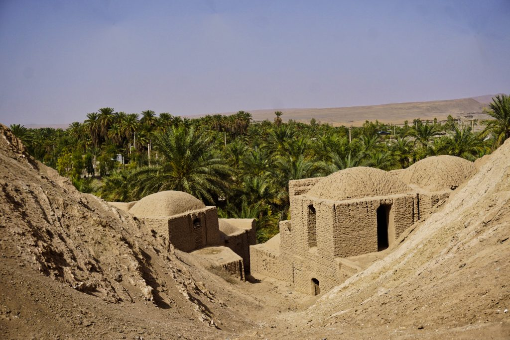 Oasis village, Kerman province, Iran