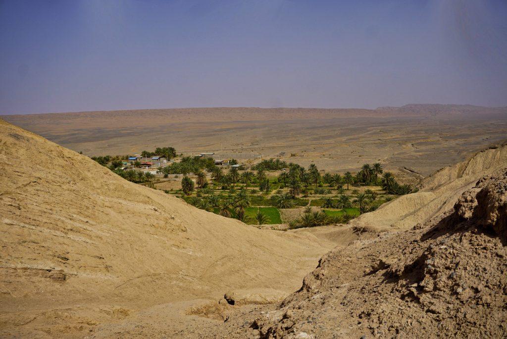 Oasis village - Kerman province, Iran