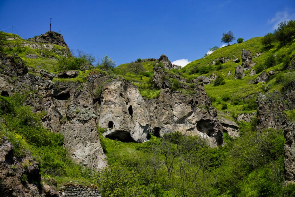 Old Khndzoresk cave village, Armenia