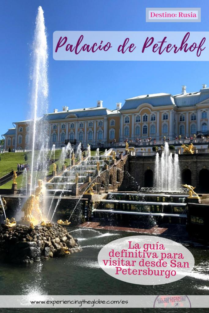 En esta, la guía definitiva sobre Peterhof, encontrarás todo lo que necesitas para optimizar tu visita a los principales parques, palacios y a los imperdibles de Peterhof, incluyendo rutas sugeridas, cómo escapar de las multitudes, qué lugares visitar, y cómo visitar Peterhof desde San Petersburgo de forma independiente – Experiencing the Globe