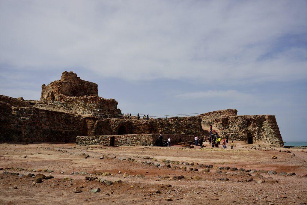 Portuguesse castle, Hormuz, Iran