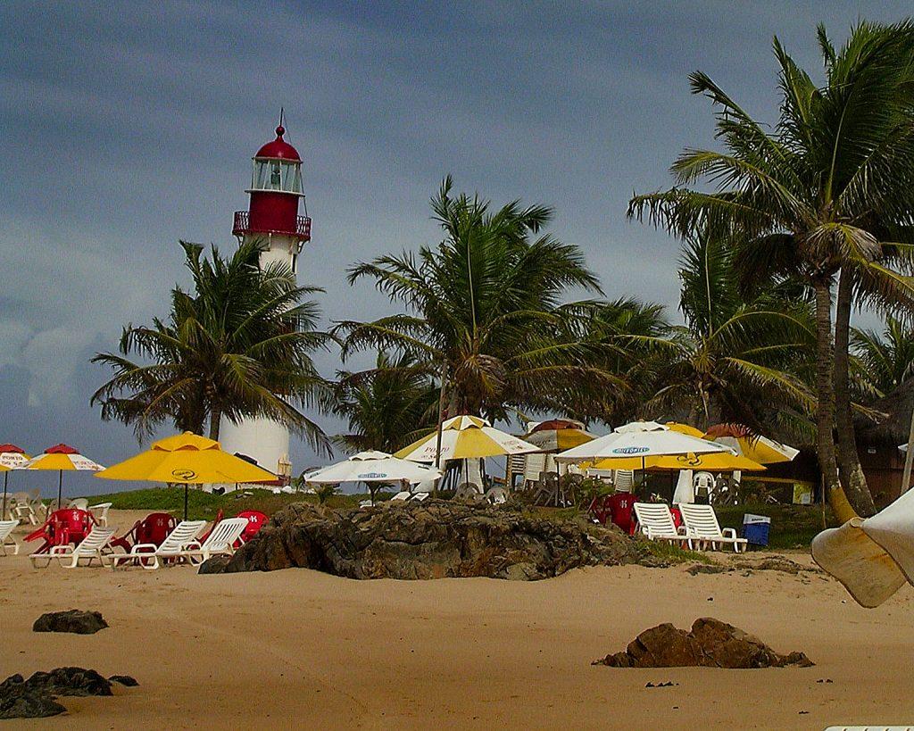 Praia de Itapua, Bahia, Brazil