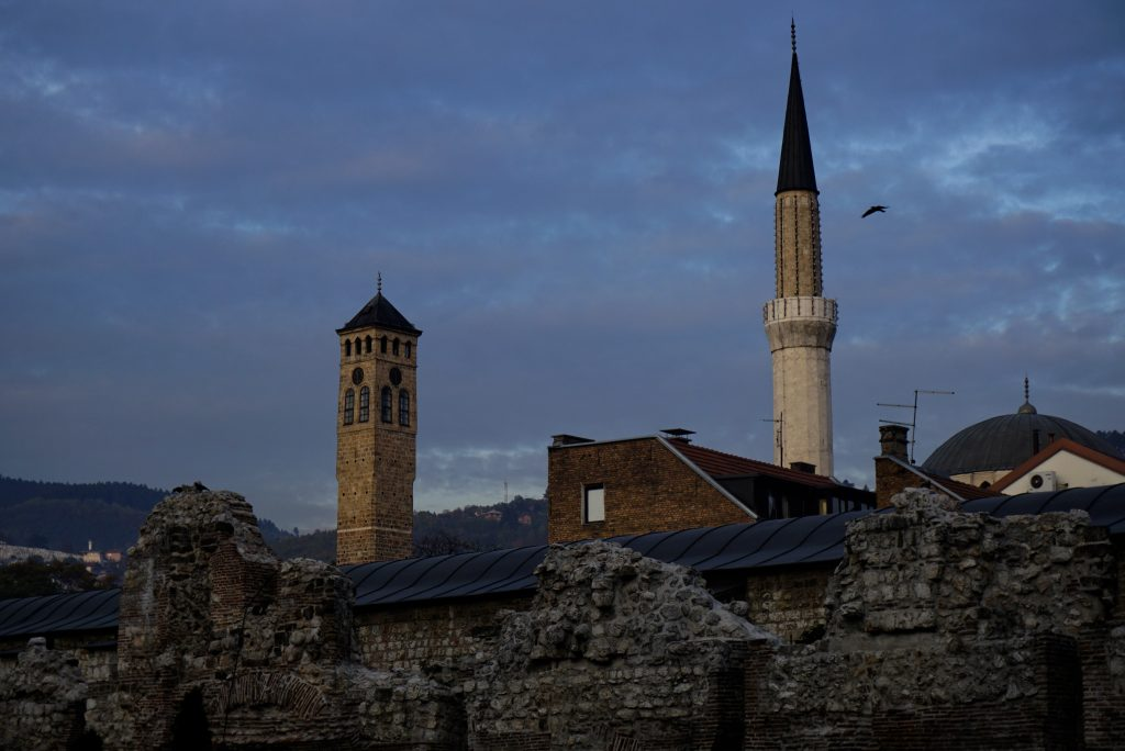 Ruins of Tašlihan Caravanserai, Sarajevo, Bosnia and Herzegovina