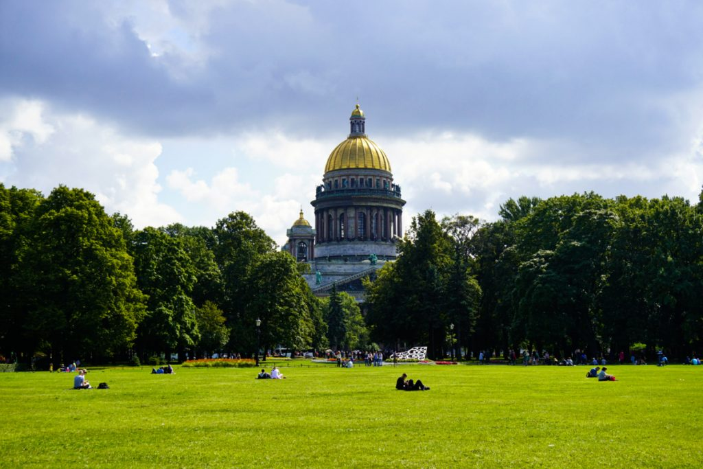 St Isaac's cathedral, Saint Petersburg – Experiencing the Globe