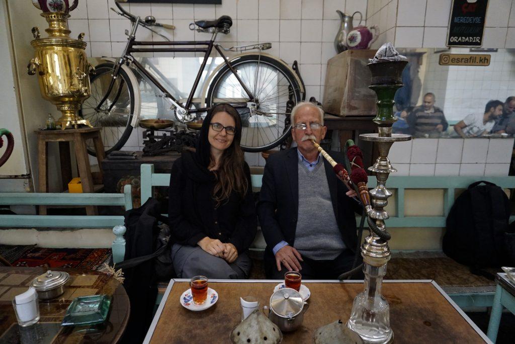 Tea at the Grand Bazaar, Tabriz, East Azerbaijan, Iran