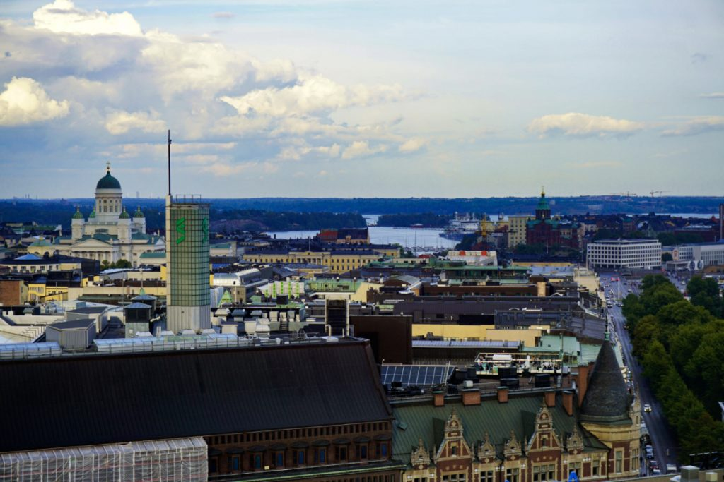 View from Torni hotel, Helsinki, Finland - Experiencing the Globe