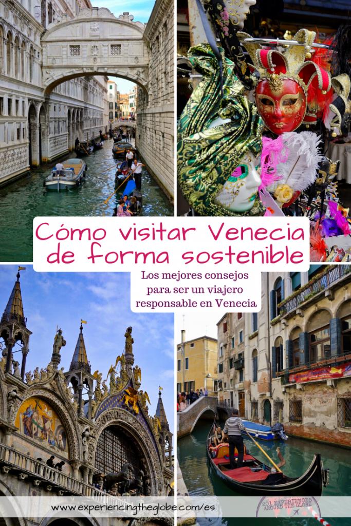 Cómo visitar Venecia de forma sostenible es una pregunta que todo viajero debiese hacerse. Hay un impacto negativo del turismo en Venecia, pero puedes visitar la ciudad de una forma responsable siguiendo estos consejos – Experiencing the Globe #Sostenibilidad #Venecia #VeneciaSostenible #EnjoyRespectVenezia #Detourism #TurismoSostenible #ViajeroSostenible # ComportamientoSostenible #Wanderlust #LaBellaItalia