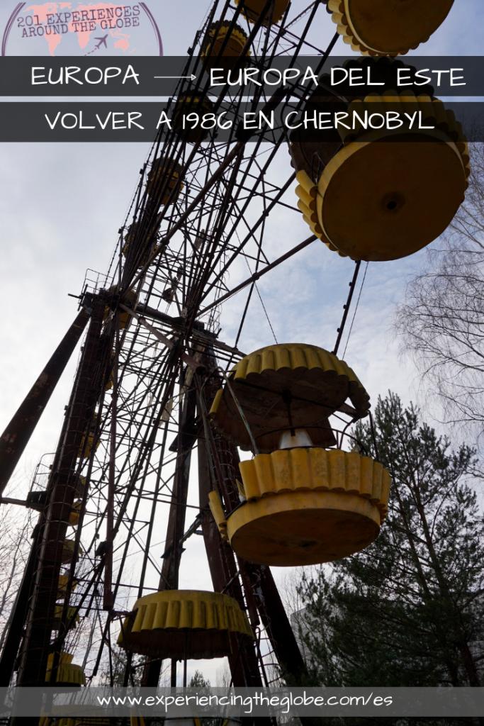 Volver a 1986 en Chernobyl