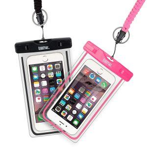 Waterproof smartphone case