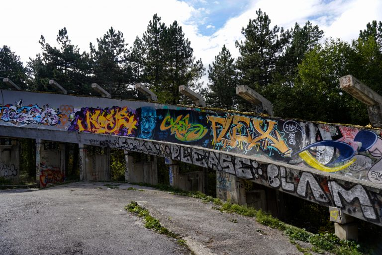 Abandoned venues of the Winter Olympics, Sarajevo, Bosnia and Herzegovina 1