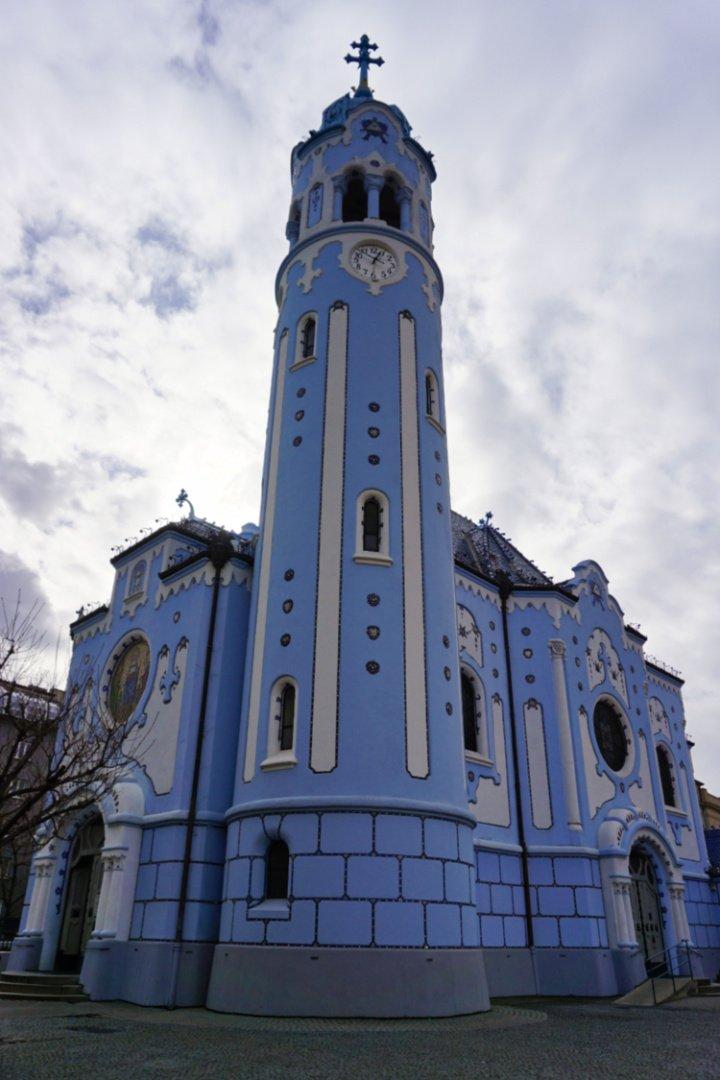 Blue Church, Bratislava, Slovakia – Experiencing the Globe