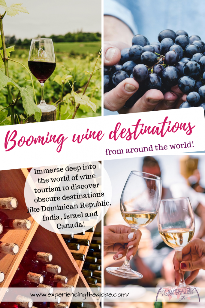 Immerse deep into the world of wine tourism to learn about some of the most unknown wine destinations. These countries shine for many reasons, but wine is absolutely not one of them! Even though they're not yet in the wine map, they deserve a place in it! Let's go around the world to discover the coolest booming wine destinations! – Experiencing the Globe