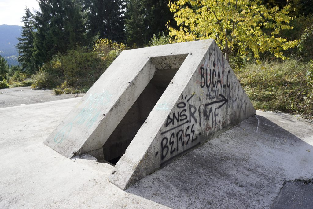 Bunker of Bosnian Serb leader, Radovan Karadžić, Abandoned venues of the Winter Olympics, Sarajevo, Bosnia and Herzegovina - Experiencing the Globe