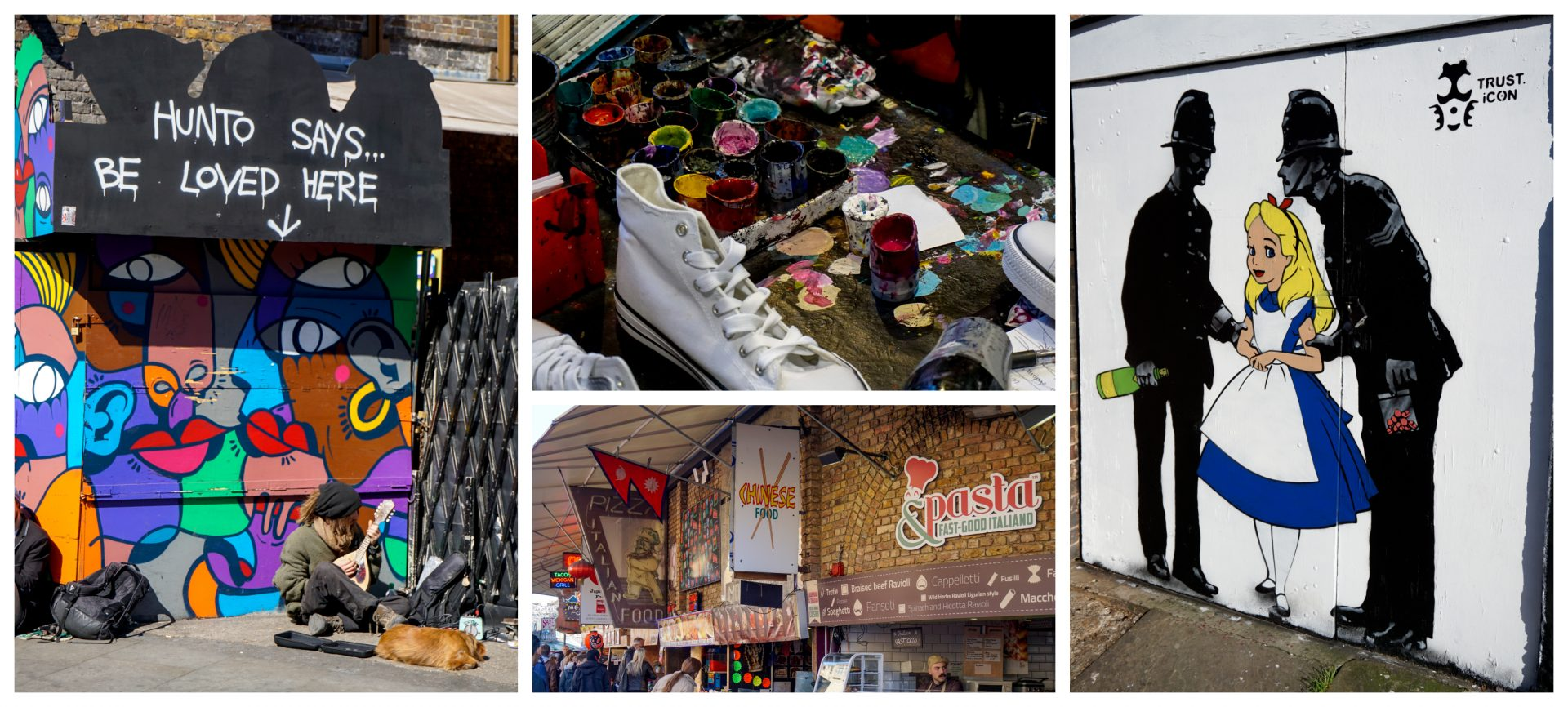 Camden Town, London - Experiencing the Globe