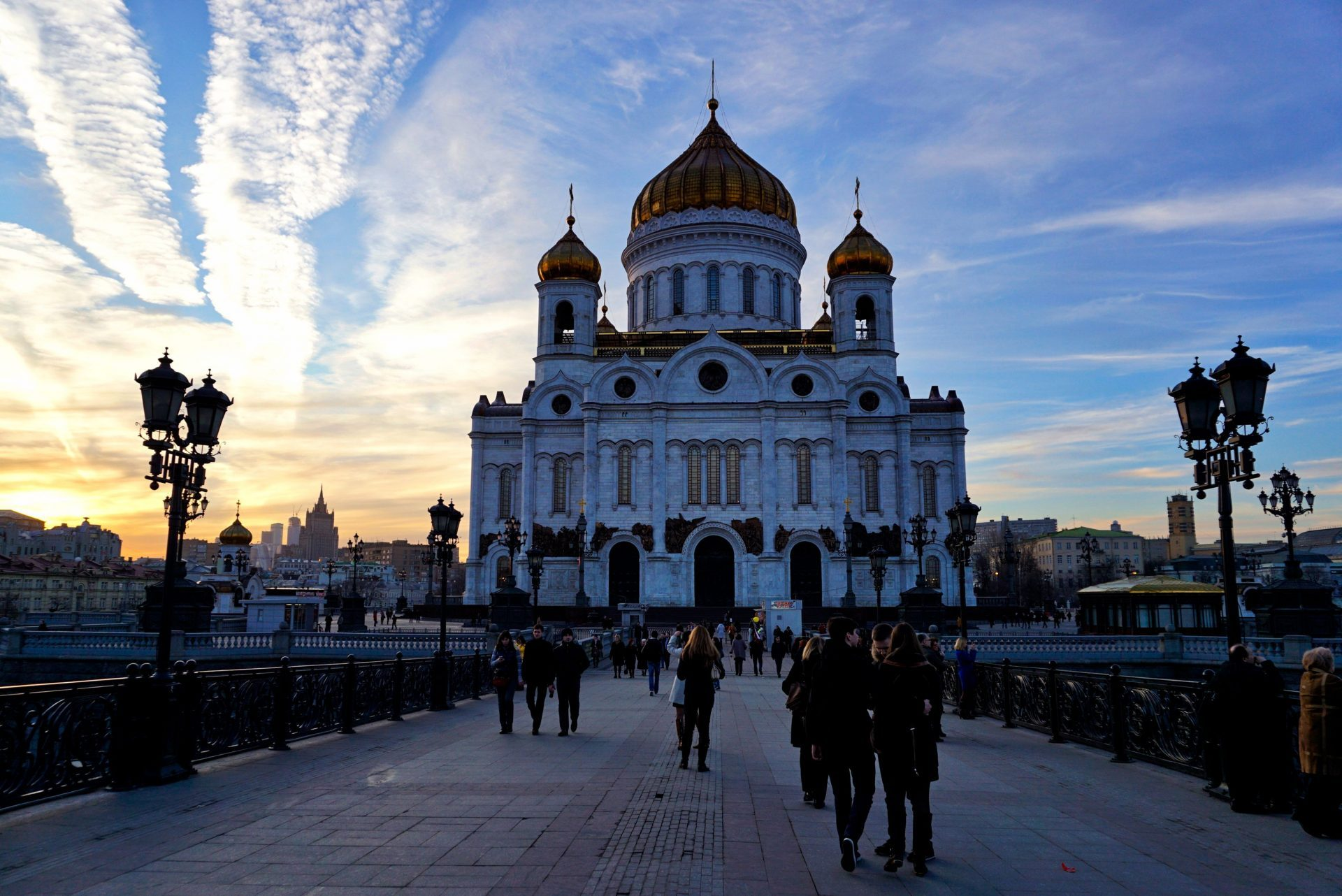 Christ the Saviour Cathedral, Moscow, Russia - Experiencing the Globe