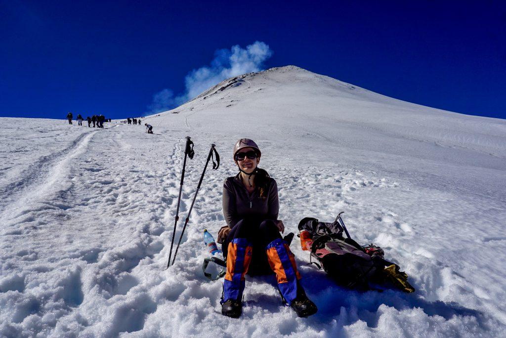 Climbing Villarica volcano, Chile - Experiencing the Globe