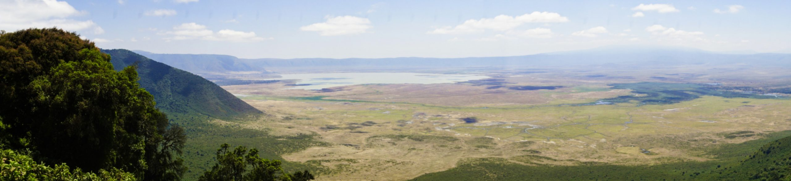 Crater and rim of the Ngorongoro Conservation Area, Tanzania - Experiencing the Globe