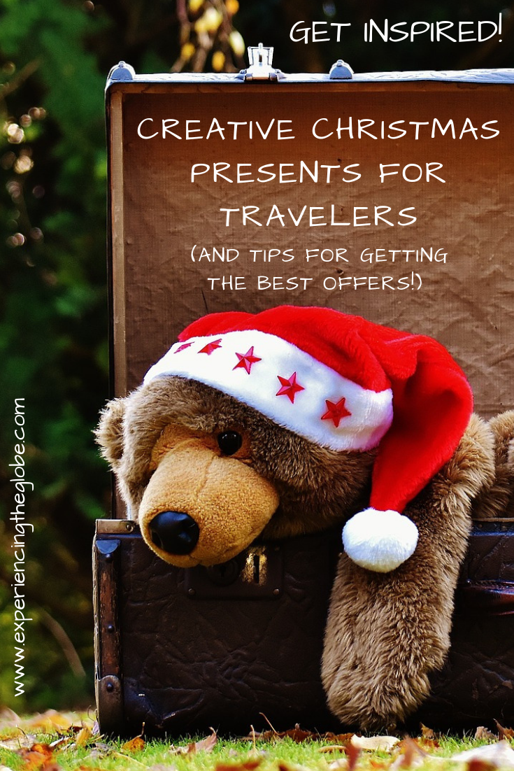 Are you looking for the most creative presents for travelers? Here's a list with the best ideas to keep yourself and your travel-addict friends happy – Experiencing the Globe #Wanderlust #PresentForTravelers #CreativePresents #BestPresents #BestGifts