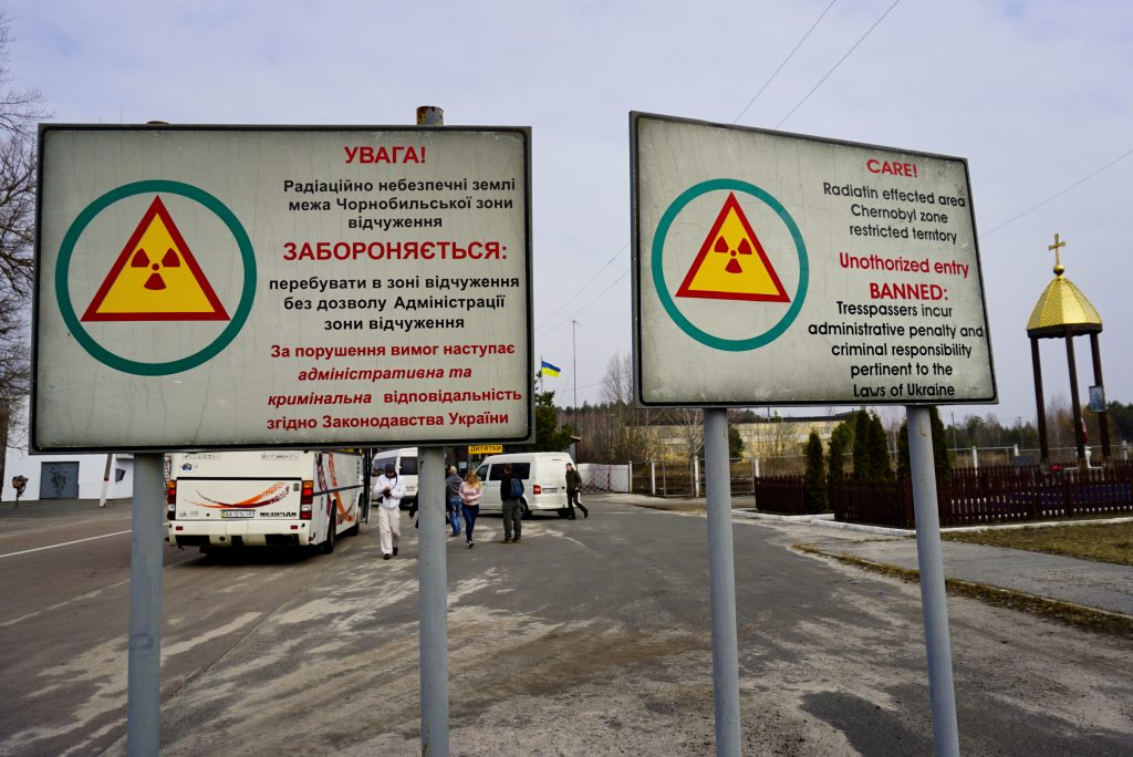 Exclusion zone Chernobyl Ukraine