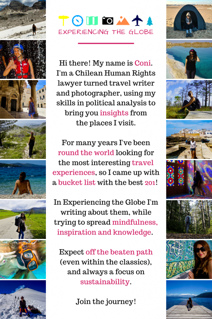 Experiencing the Globe, round the world looking for meaningful travel experiences