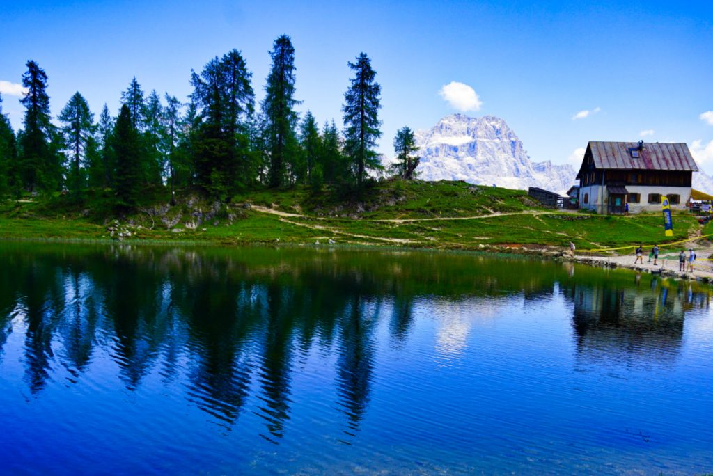 Federa lake, Dolomites, Italy - Experiencing the Globe
