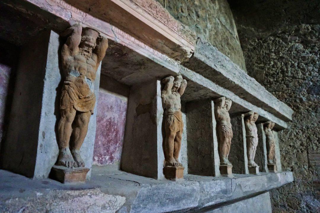 Forum Baths, Pompeii
