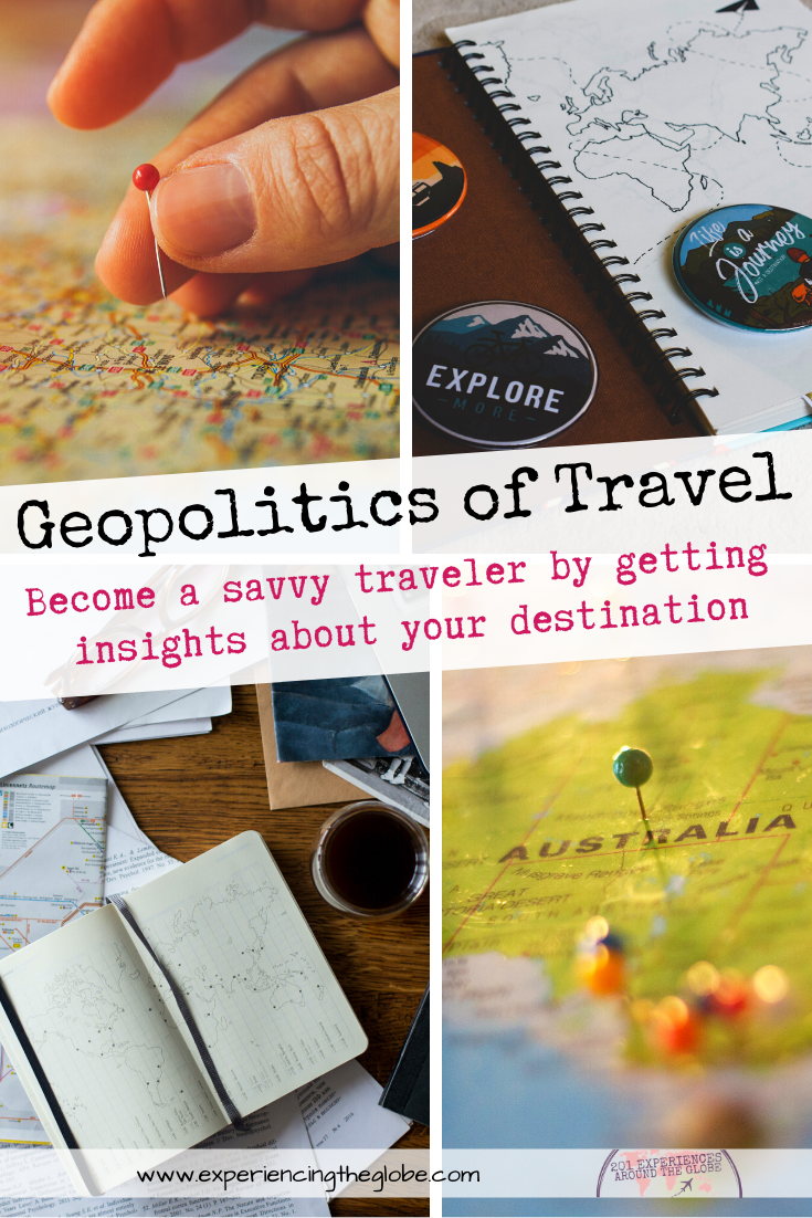 Understand the place you visit beyond what the travel industry and the media want you to believe, and become a savvy traveler by getting insights that will allow you to plan your trip better and dig deeper to get an accurate perspective about your destination – Experiencing the Globe