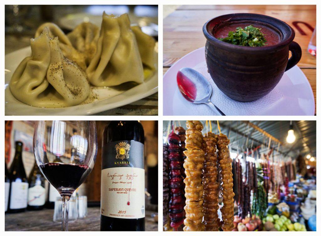 Georgian food and wine - Experiencing the Globe