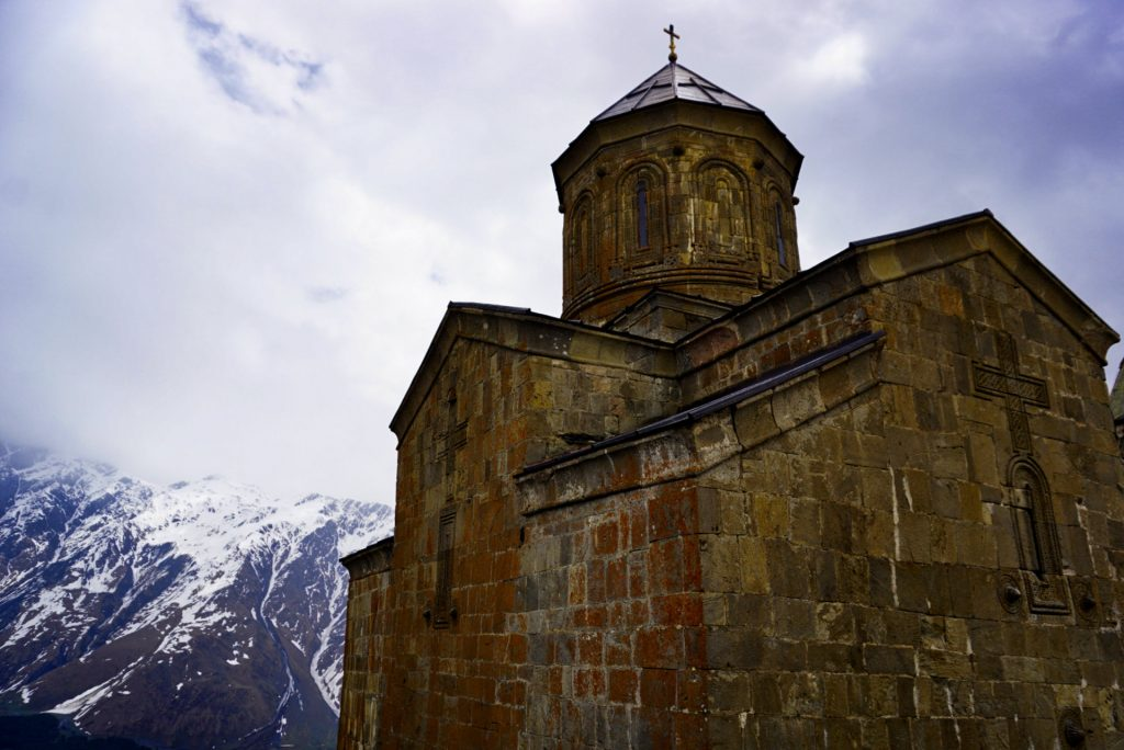 Gergeti Trinity Church, Kazbegi, Georgia - Experiencing the Globe