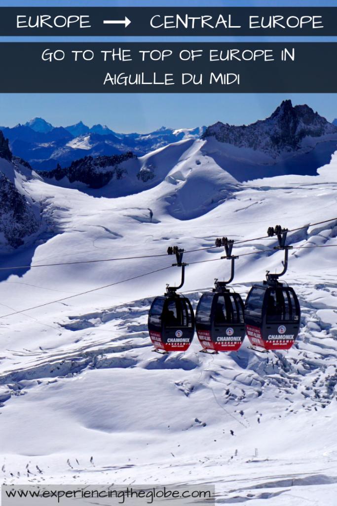 One of the best ski resorts in Europe and its highest point! Visit Chamonix all year, whether you're a sport junkie or just want to enjoy breathtaking views – Experiencing the Globe #Chamonix #MontBlanc #AiguilleDuMidi #MerDeGlace #PlanPraz #LeBrevent #BestSkiResortsInEurope #SkiChamonix #ChamonixSkiResort #ChamonixAccommodation #BeautifulDestinations #Wanderlust #TravelPhotography #VisitChamonix