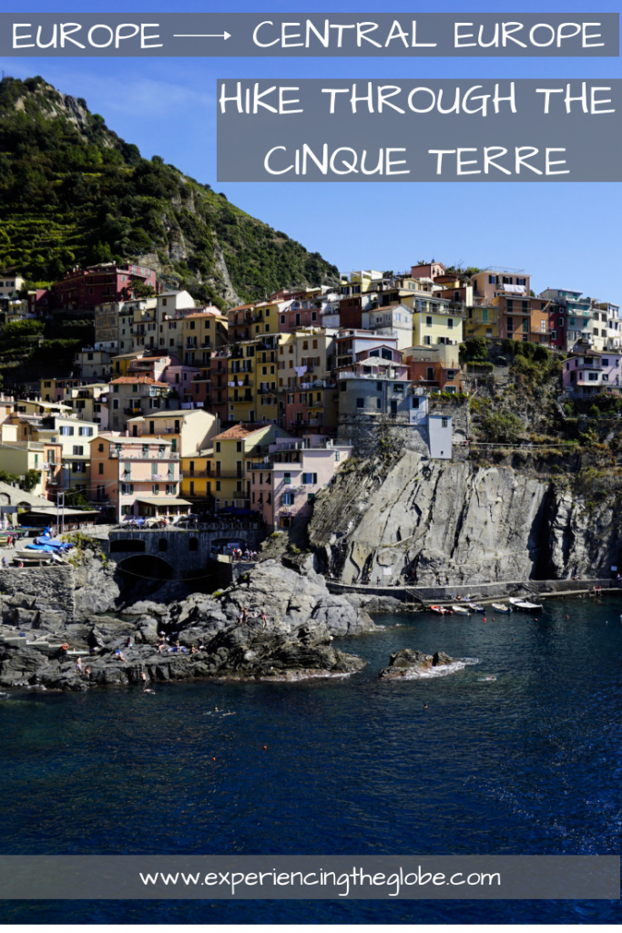 Hike through the Cinque Terre