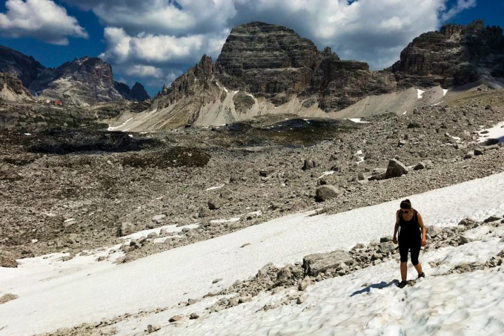Hiking in Tre Cime, Dolomites, Italy - Experiencing the Globe