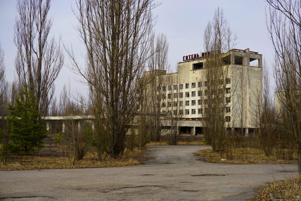 Hotel Polissya Pripyat Chernobyl Ukraine