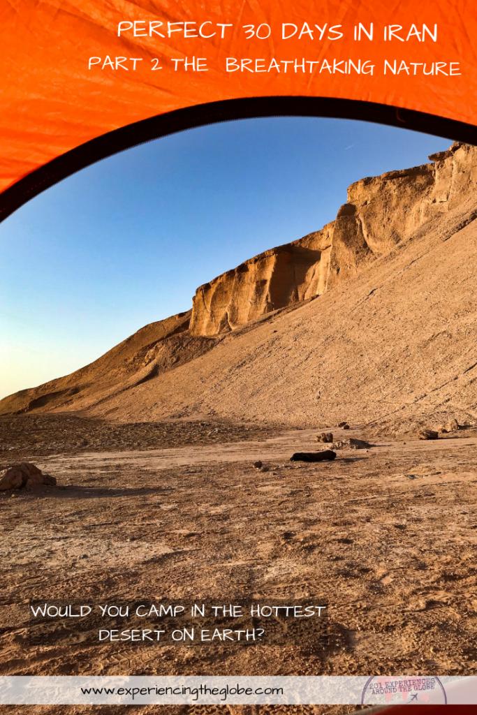 Perfect 30 days in Iran, part 2: The breathtaking nature #BestPlacesToVisitInIran #MiddleEast #Iran #Hormuz #LutDesert #Kerman #Qeshm #Yazd #Wanderlust #TravelPhotography #BucketList #SlowTravel #Backpacking #Adventures #TravelExperience #BeautifulDestinations