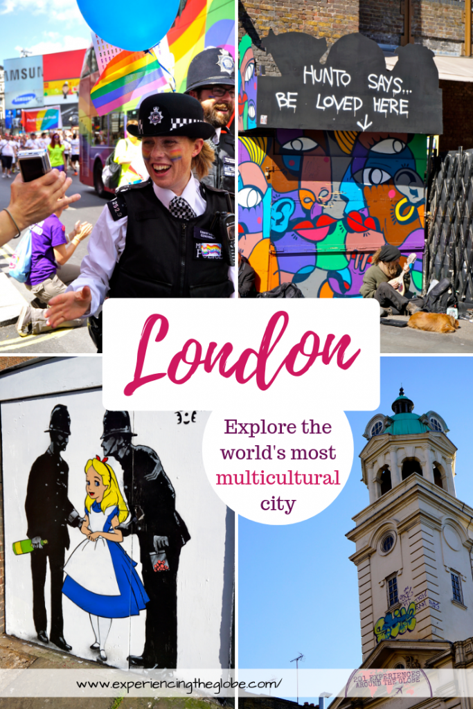 Explore London's multiculturalism to fall in love with the city before you see all the sights. There're plenty of things to see in London, but it's vibe is what you'll take with you, and what will make you want to go back #London #VisitLondon #IheartLondon #UKtravel #TravelExperience #BeautifulDestinations #Wanderlust #TravelPhotography