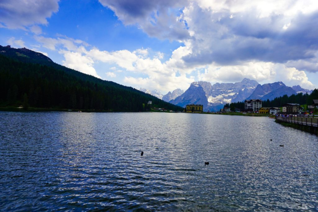 Misurina lake, Dolomites, Italy - Experiencing the Globe