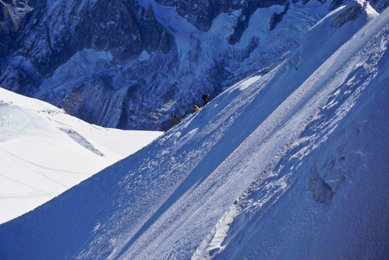 Mont Blanc from Aiguille du Midi, France