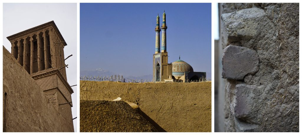 Mud constructions, Yazd, Iran – Experiencing the Globe