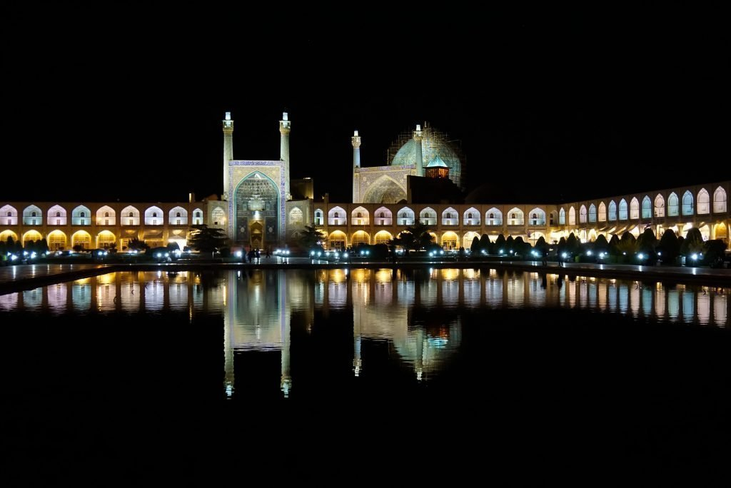 Naqsh-e Jahan square, Shah mosque, Isfahan, Iran