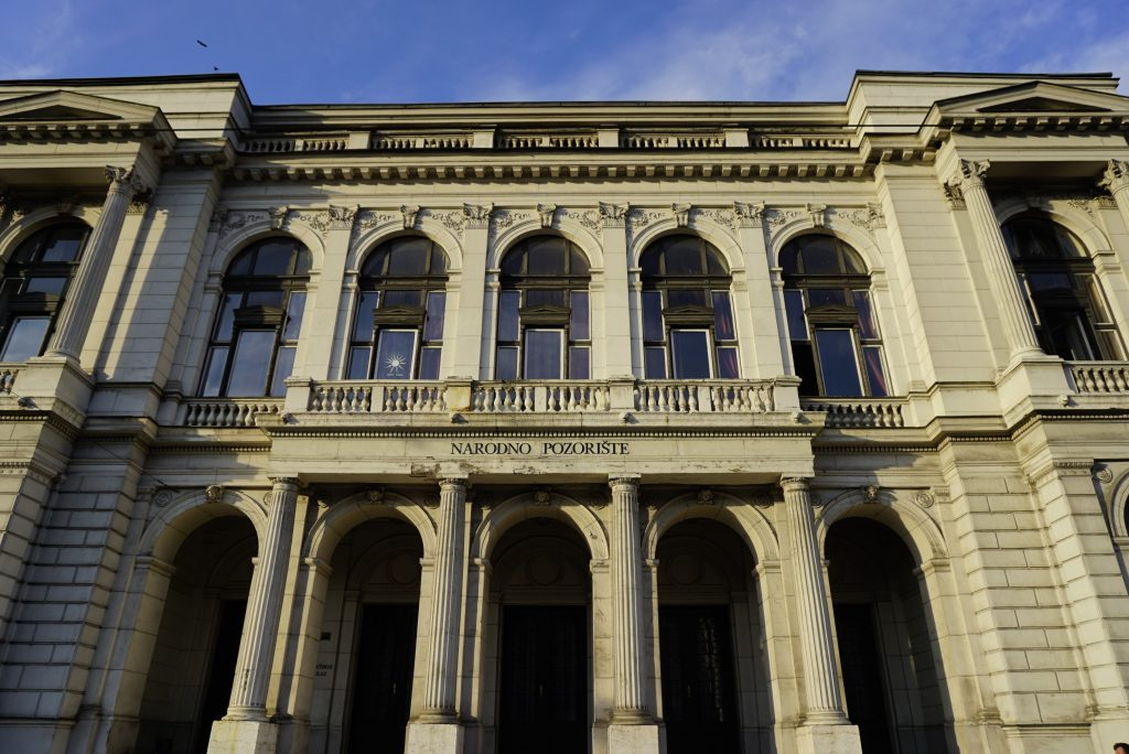 National Theater, Sarajevo, Bosnia and Herzegovina