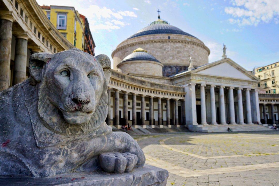 Piazza del Plebiscito, Naples, Italy